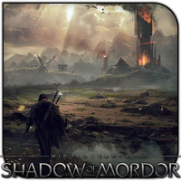 Shadow of Mordor Landscape by griddark