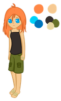 Soriva Human Ref by Clouded-Sky