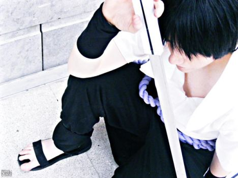 Uchiha Sasuke - On My Own by Devil-Kasai