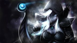 Fan Art -Drow Ranger dota 2 by peeknokboorapa-go-it