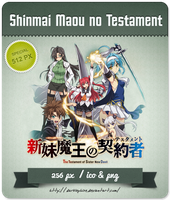 Shinmai Maou no Testament - Anime Icon by Darklephise