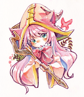Lulu with copic by MizoreAme