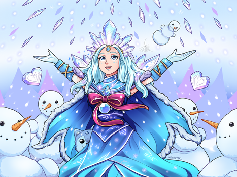 Crystal Queen by keterok