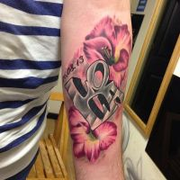 Realistic And Graffiti By Russlan by HammersmithTattoo