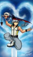 KH3D Riku || Happy Birthday, Jessica!! by WanderingDarkness205