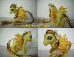 My little Pony Custom Sunflower Flap US$46 by BerryMouse