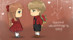 Happy Hearts and Love's Day :D by aqualin09