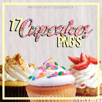 17 Cupcakes PNG's by amortentia15