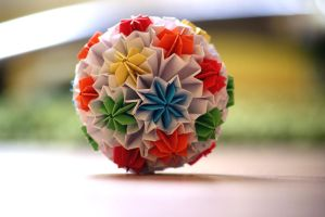 Kusudama 10 by happy96