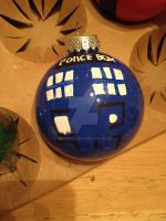 Doctor who Tardis ordmant by tie-dieQ