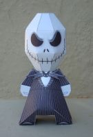 Jack Skellington Papertoy by Sinner-PWA