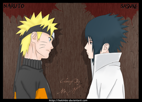 Naruto and sasuke ver 1 by hakimbo
