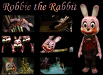 Robbie the Rabbit - Wallpaper by NatlaDahmer
