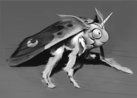 Luna as Moth by GSphere