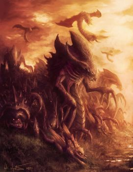 The Swarm by Vablo