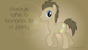 Dr. Whooves Wallpaper by zye11