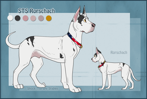 STS Dog- Rorschach by ShockTherapyStables