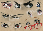 Eye Studies #3 by Kipichuu