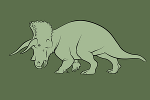 Triceratops by DarkHorses90