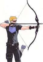 Hawkeye by Another-Stray-Dog