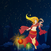 Janna - Lunar Revelry :Red: by Mignion