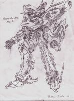 Armored Core -mech- by Dansic