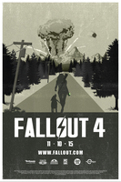 Fallout 4 Poster by XavierSkywalker