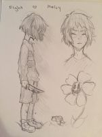 Undertale Doodles by Ao4life