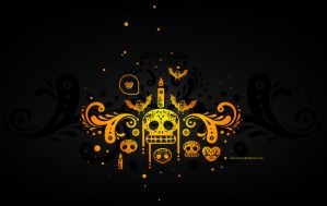 Dia de Muertos Wallpaper by chicho21net