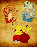pokemon tattoo by ras-blackfire