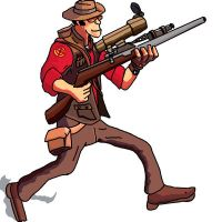 team fortress 2 sniper 'tf2' by who-said-that