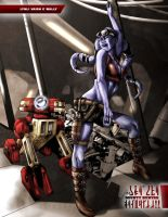 STARWARS Bounty Hunters_4new by Iantoy