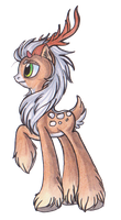 Deer Pony... by OfficerPony