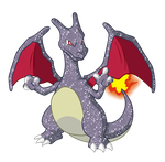 Shiny Charizard - #006 by RandomDrawerOfArt