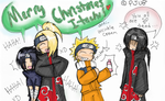 Merry Christmas, Itachi by ShadedLove