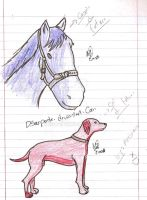 Dog and Horse of future by DSerpente