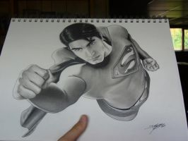 Brandon Routh Superman 2 by DMThompson