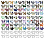 80 adopts thaT I SPENT AGES ON (open) by GeckoGirlArt