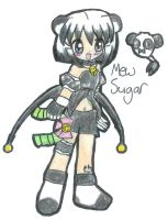 Mew Sugar for Hamurin by Frogberri