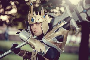 Jarvan Lightshield IV_the Exemplar of Demacia by DrawenZzZz