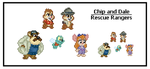 Chip and Dale Rescue Rangers by SWSU-Master