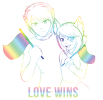 Love Wins by padfootlet