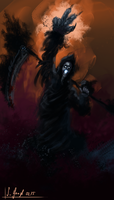 Shadow Reaper - speedpainting by SimonGangl