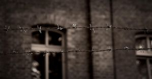 Behind the barbed wire by Frostshadow91