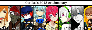 2013 Art Summary by GORILLAA