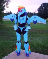 My Mecha Pony - Rainbow Dash by RebelATS