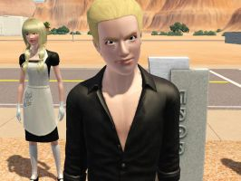 Sims: Ludwig is just pure evil by bloodwolf8
