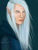 Inquisitor Lavellan by OddMoy