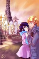 Paris Valentines by Embyrflame