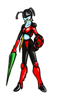"""Lady"" Bug Full Color by GeomancerEDG"